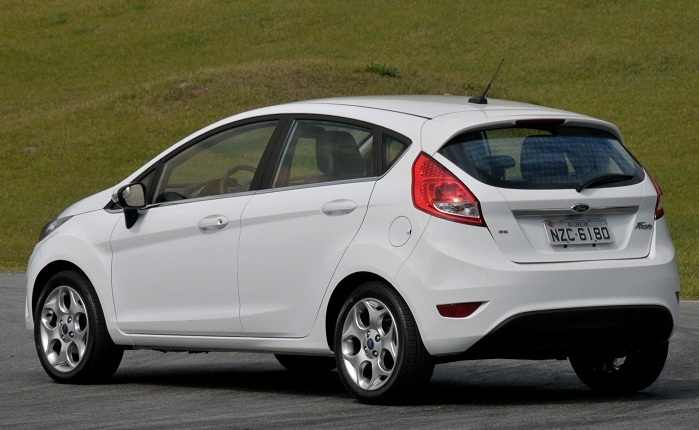 New Fiesta branco G